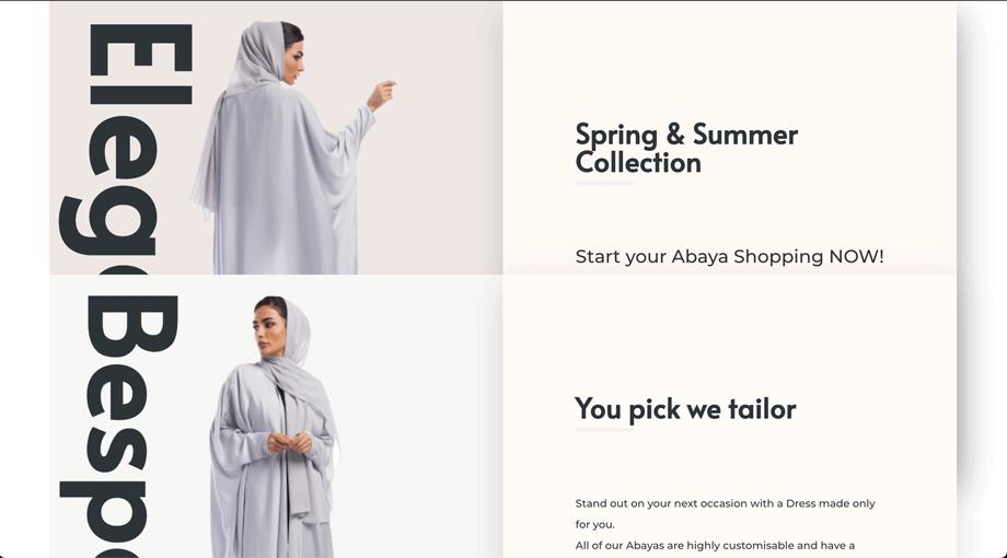 E-Commerce Landing Page