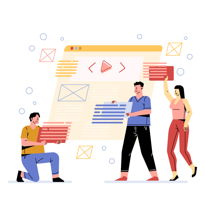 Content creation team