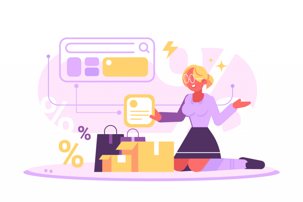 E-Commerce Woman business owner